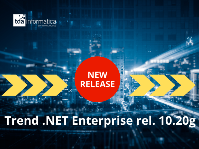 Nuova Release Trend .NET Enterprise 10.20g