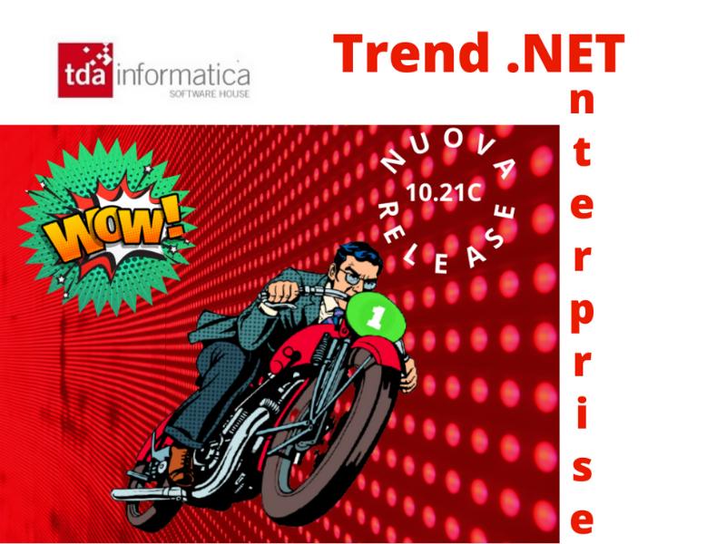 Nuova Release Trend .NET Enterprise 10.21c